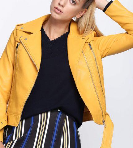 Żółta Ramoneska Carefree
